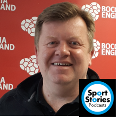 33: Chris Ratcliffe – CEO Boccia England and previously represented GB in the 1985 Deaflympics (Water Polo) and Wales Deaf Rugby
